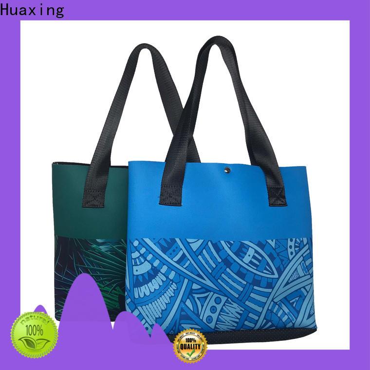Huaxing stripes neoprene tote supplier for children