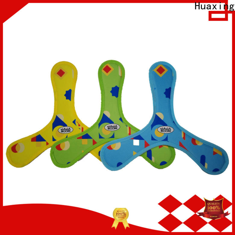 Huaxing colorful neoprene toy bulk production for beach game
