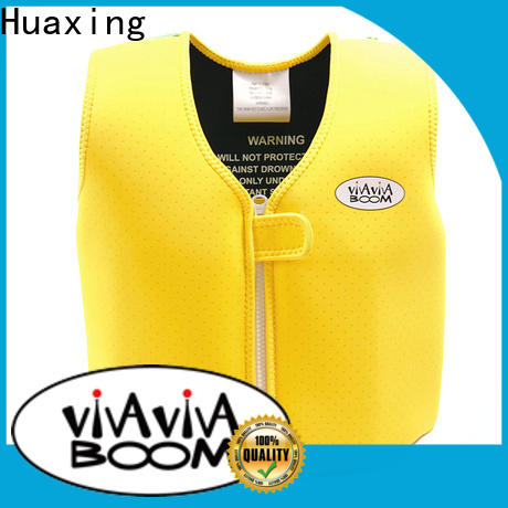 Huaxing design baby swim vest factory price for swimming