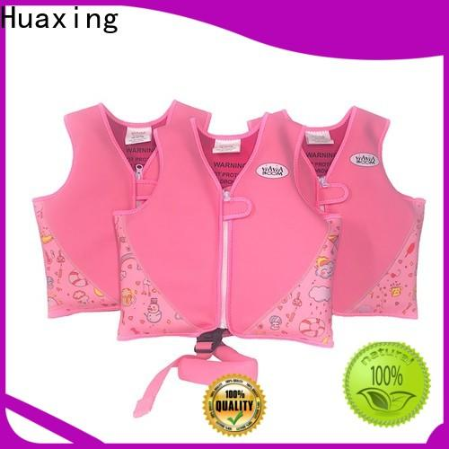 Huaxing selling baby swimming life vest from manufacturer for swimming