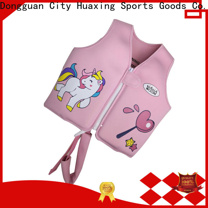 Huaxing toddler baby swimming life vest producer for swimming