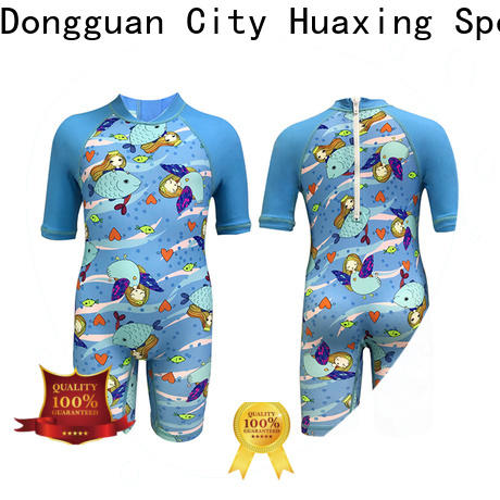 Huaxing printing ladies rash guard producer for wakeboarding