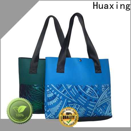 Huaxing soft neoprene lunch box from china for women