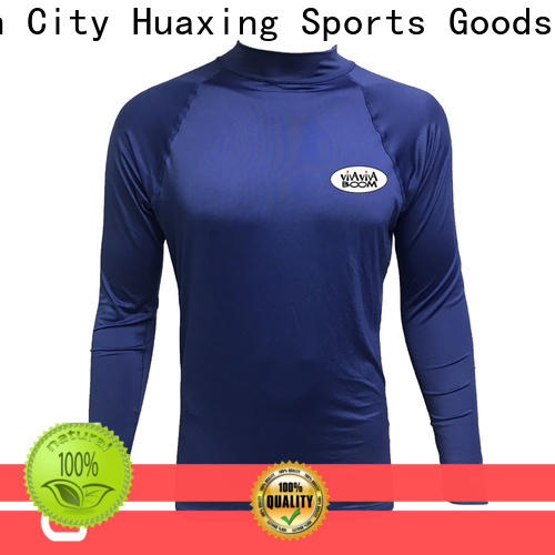 Huaxing comfortable rash guard from manufacturer for stand up paddle surfing