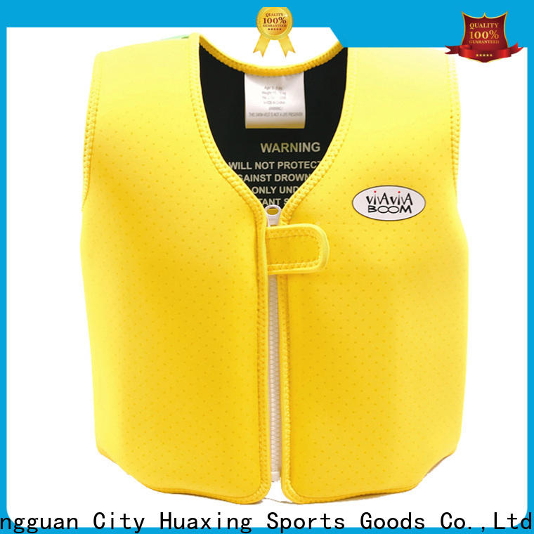 Huaxing selling super soft swim vest shop now for swimming
