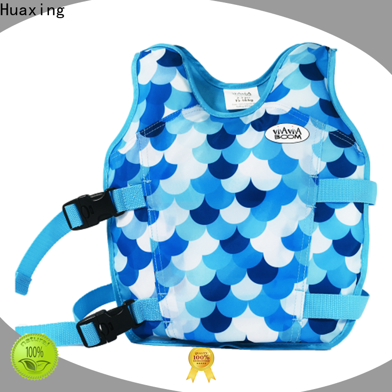 colorful infant swim vest fish from manufacturer for swimming