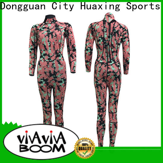 Huaxing zipper ladies wetsuit owner for surfing