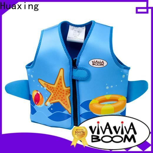 Huaxing perfect boys swim vest vendor for swimming