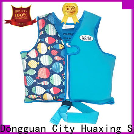 Huaxing soft baby swim vest factory price for swimming