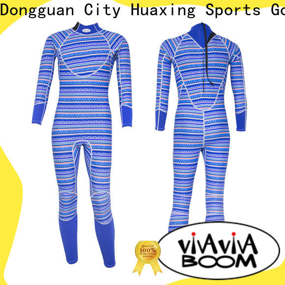 Huaxing fashion design kids wetsuits owner for surfing