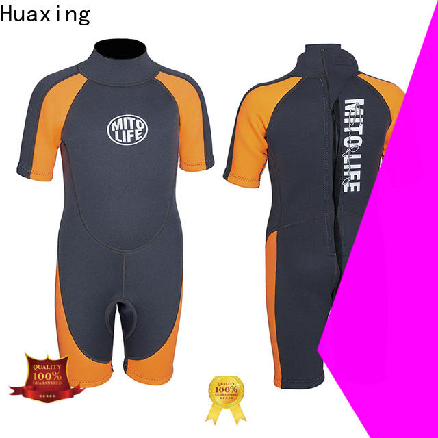Huaxing womens shorty wetsuit producer for paddle sports