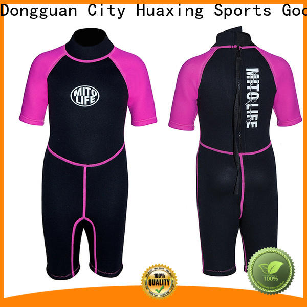 colorful kids wetsuits spearfishing producer for paddle sports