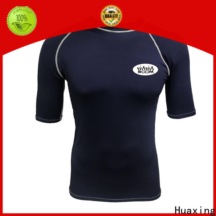 Huaxing colorful rash guard factory price for kitesurfing