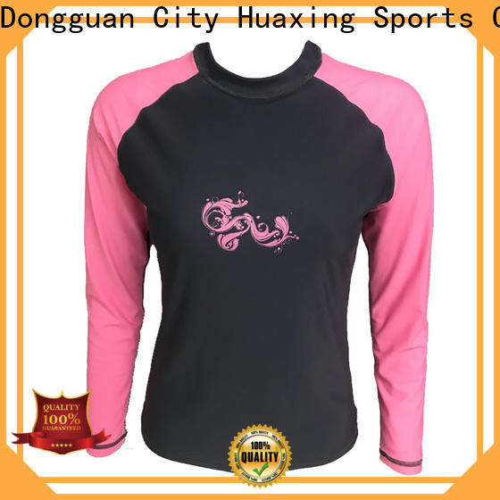 high quality ladies rash guard selling wholesale for windsurfing
