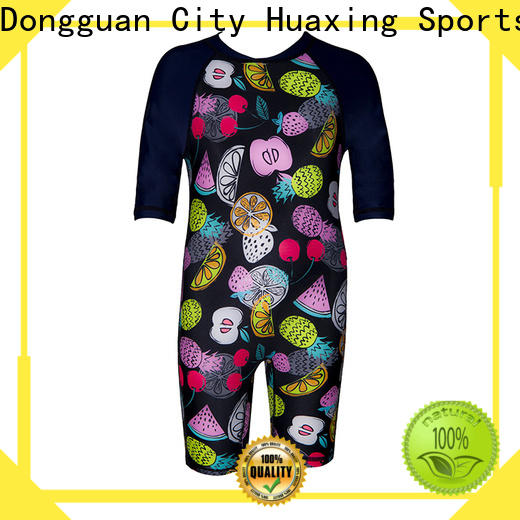 Huaxing spandex long sleeve rash guard producer for windsurfing