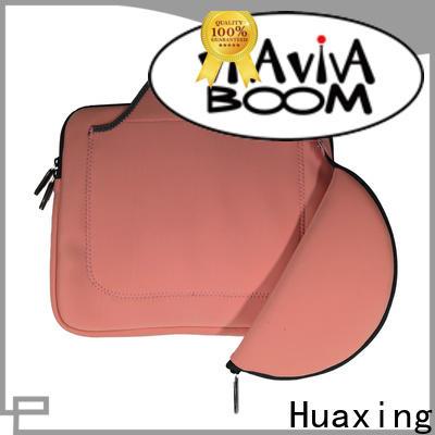 Huaxing pocket neoprene laptop sleeve producer for children