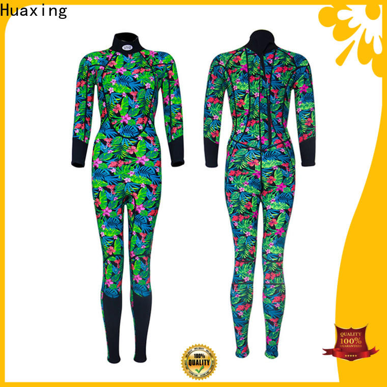 Huaxing fashion design surfing wetsuits for paddle sports