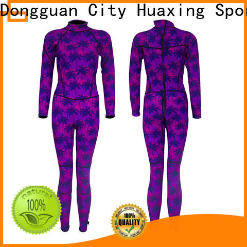 Huaxing waterproof surfing wetsuit vendor for surfing