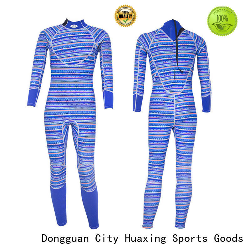 Huaxing chestzip womens shorty wetsuit producer for diving