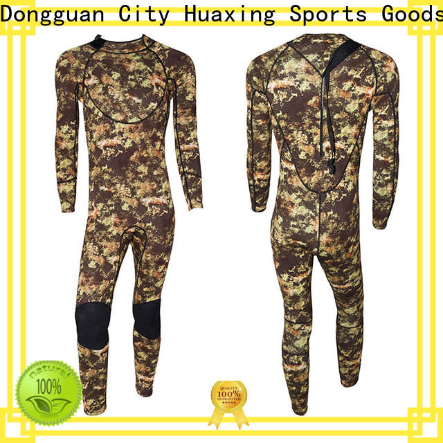 Huaxing sleeve long sleeve wetsuit owner for lake activities