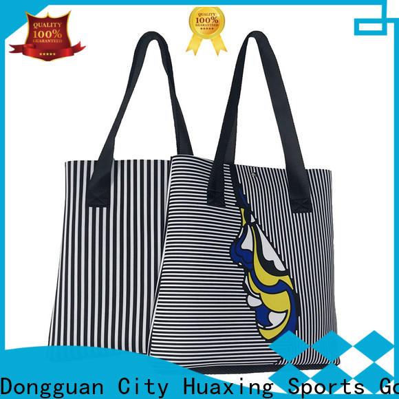 Huaxing hot sale neoprene tote supplier for women