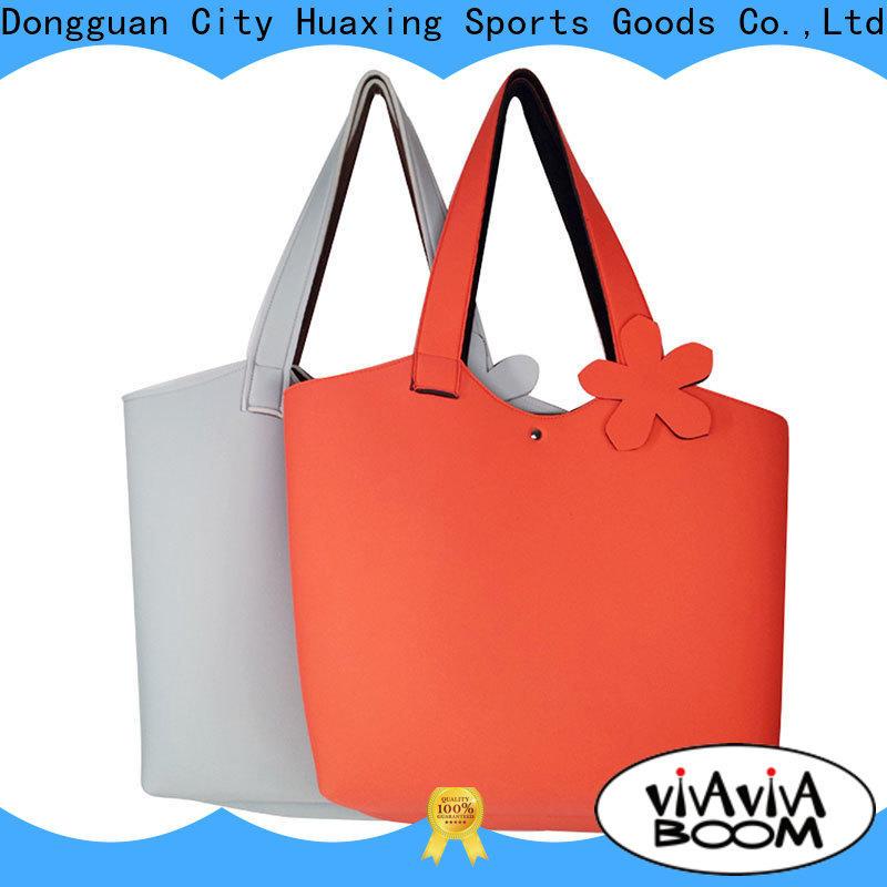 Huaxing gorgeous neoprene handbag bulk production for children