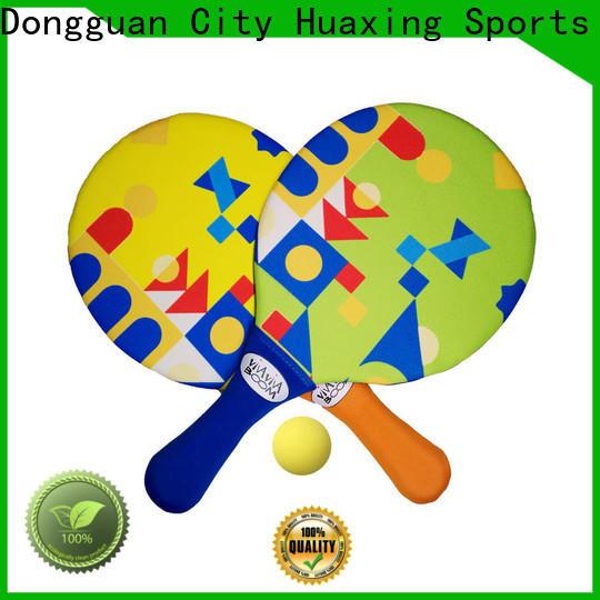 Huaxing bat neoprene toy beach game for children