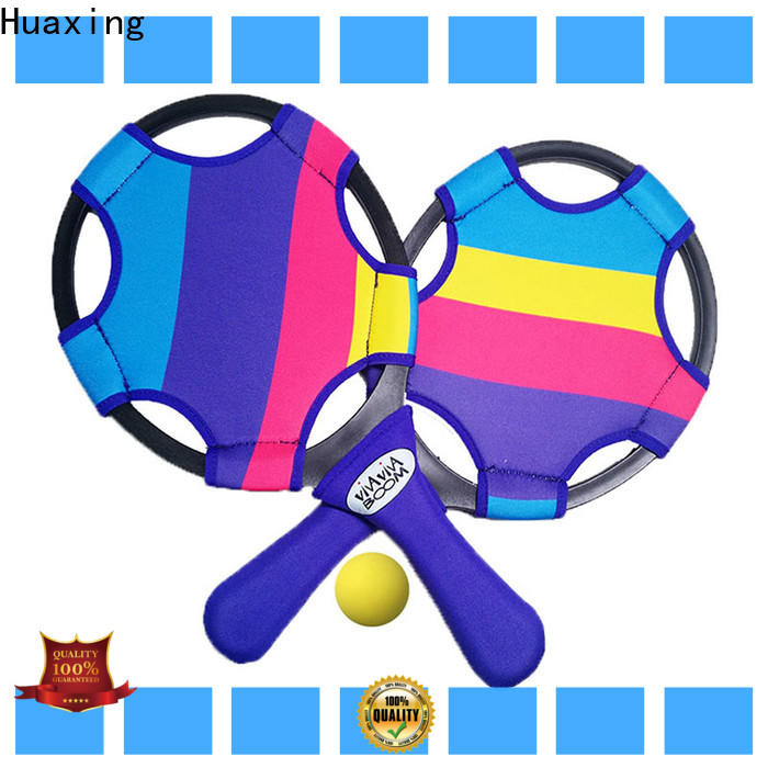Huaxing good looking beach tennis paddles dropshipping for beach game