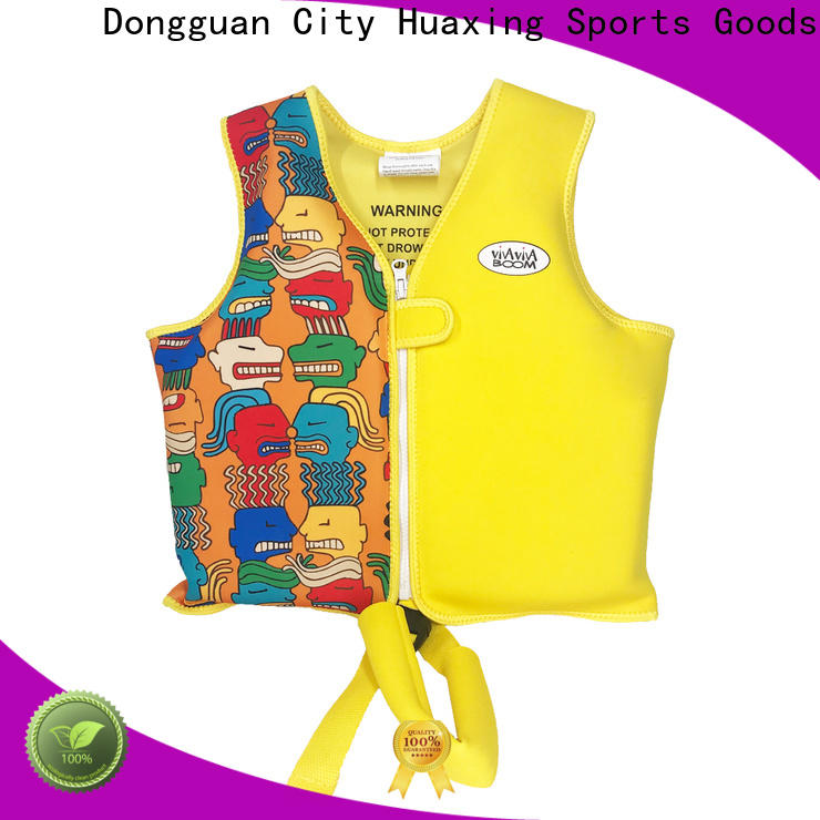 perfect kids swimming life jacket colorful factory price for swimming