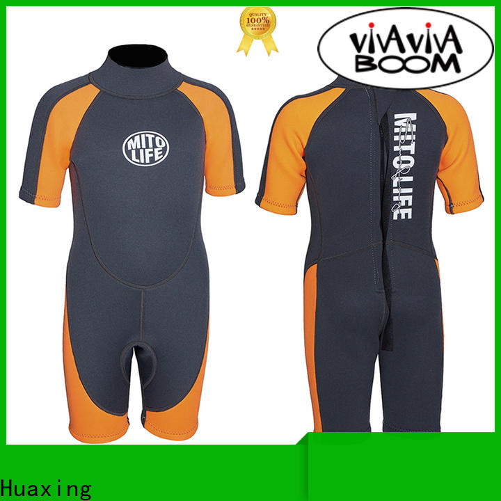 Huaxing stretch girls wetsuit bulk production for paddle sports