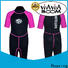 Huaxing woman female wetsuit supplier for paddle sports