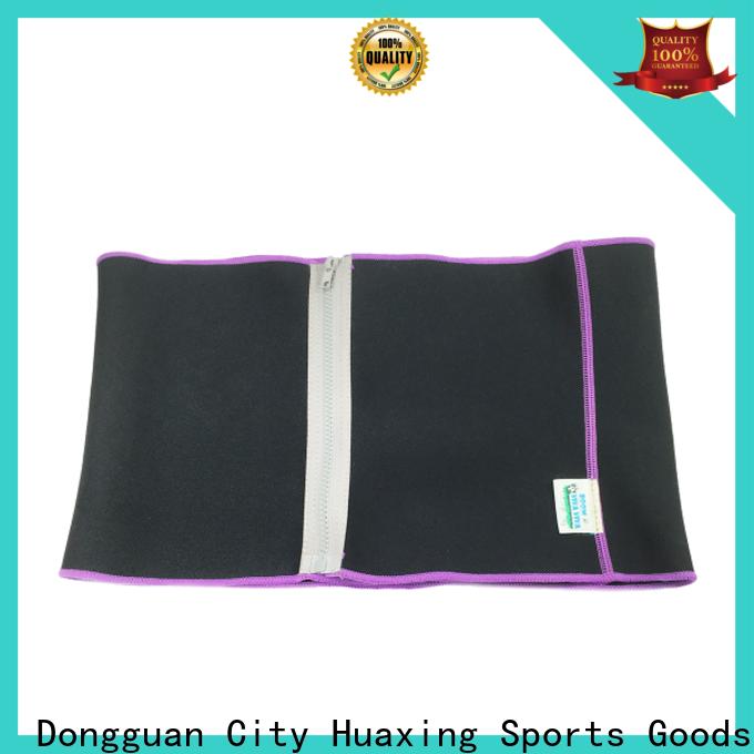 Huaxing neoprene neoprene waist trainer from china for bath room