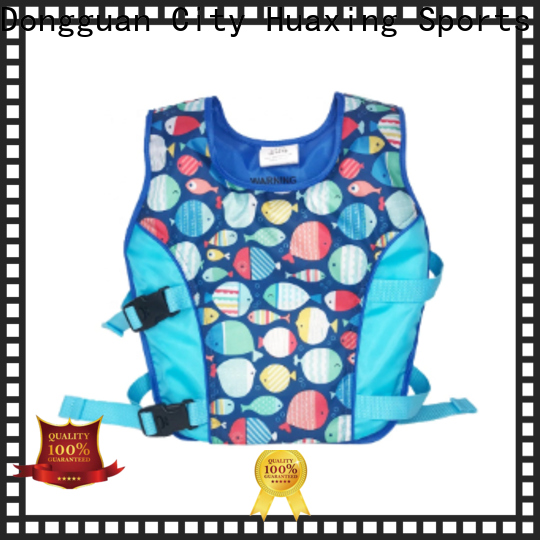 Huaxing safety boys swim vest producer for swimming