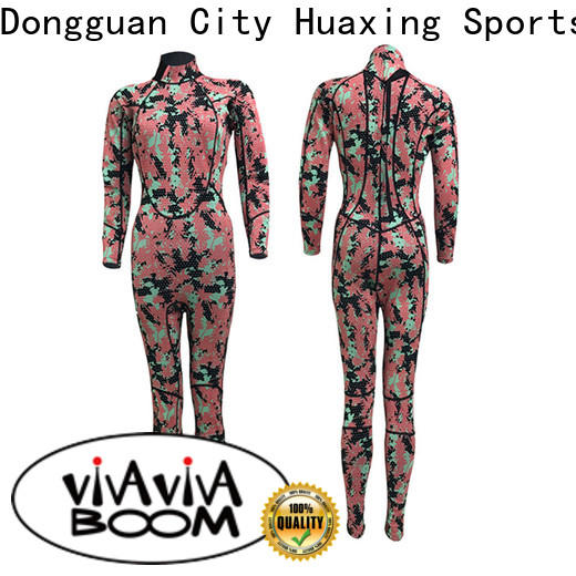 Huaxing smooth wetsuit bulk production for paddle sports