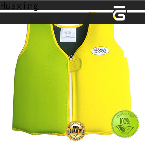 Huaxing colorful girls swim vest shop now for swimming