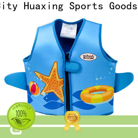 Huaxing perfect girls swim vest factory price for swimming