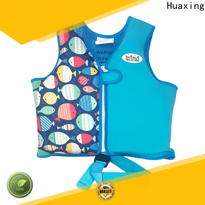 Huaxing safe swimming life jacket vendor for swimming