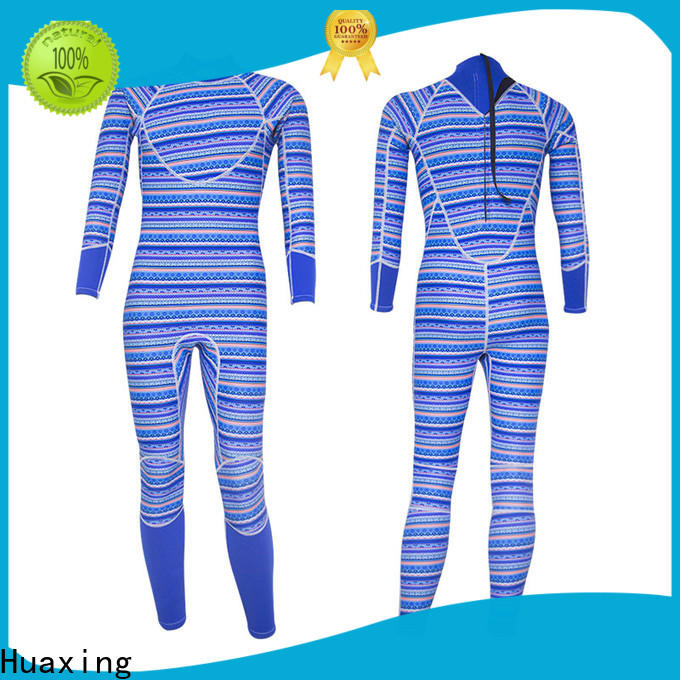 Huaxing waterproof female wetsuit bulk production for lake activities