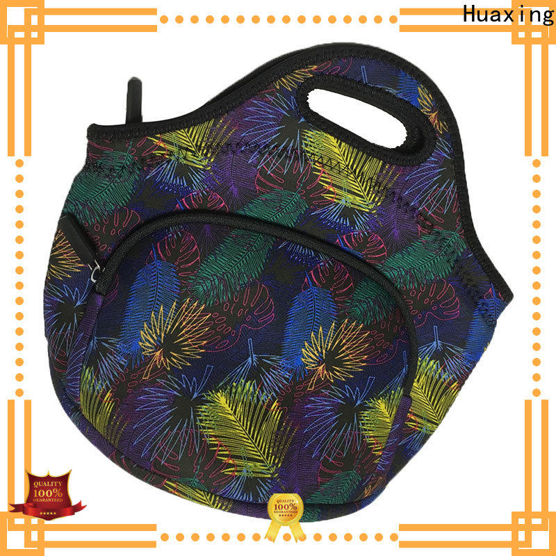Huaxing durable neoprene lunch box manufacturer for women