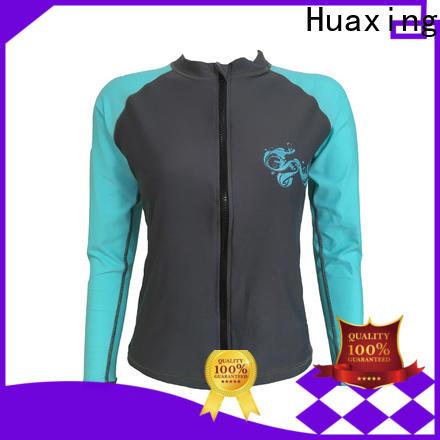 Huaxing comfortable boys rash guard producer for wakeboarding