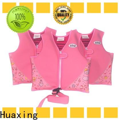 Huaxing super soft swim vest factory price for swimming