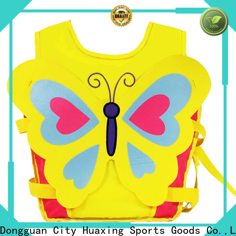 Huaxing best toddler swim vest factory price for swimming