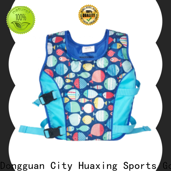 Huaxing direct childrens swim vest factory price for swimming