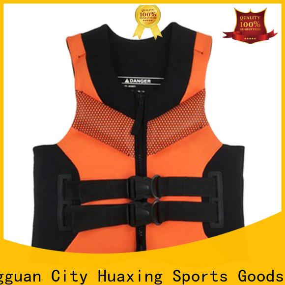 Huaxing perfect kids swim vest factory price for swimming