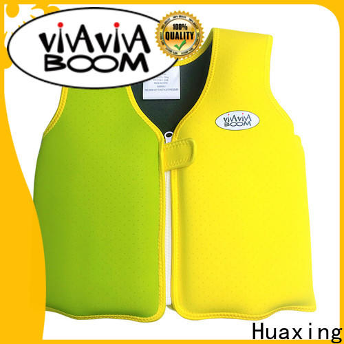 Huaxing jacket puddle jumper swim vest producer for swimming