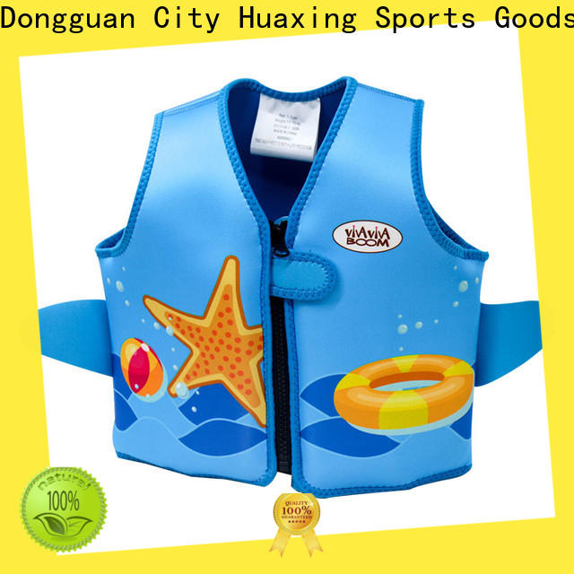 Huaxing safe baby swim vest for swimming