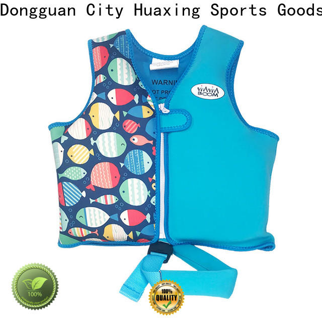 Huaxing safety youth swim vest from manufacturer for swimming