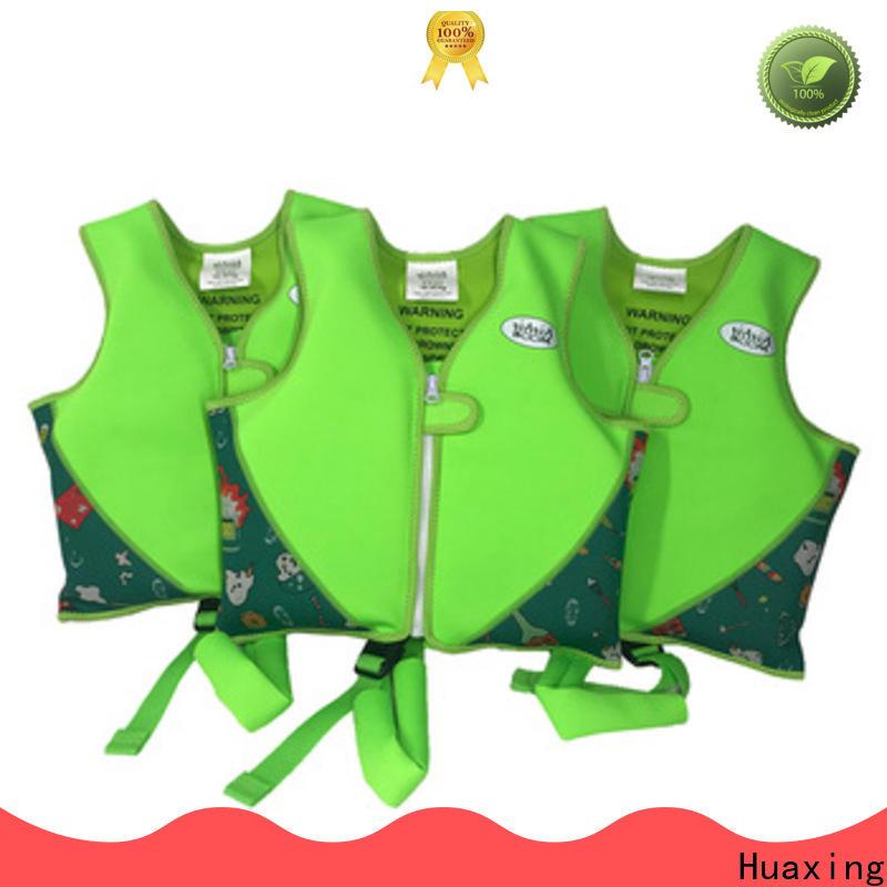 Huaxing floation kids swim vest vendor for swimming