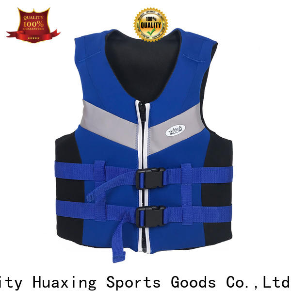 Huaxing floation kids swim vest producer for swimming