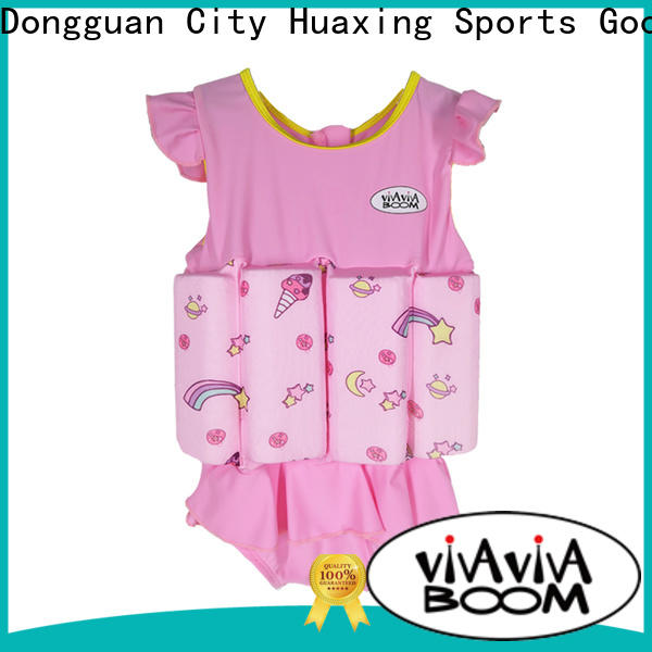Huaxing breathable baby swim vest from manufacturer for swimming